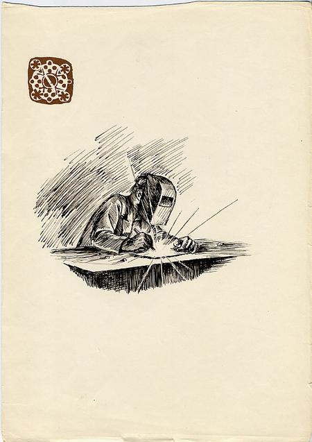 Рисунки втетради. Изображение № 8.