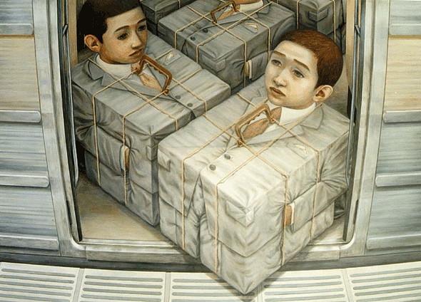 Творчество японского сюрреалиста Tetsuya Ishida. Изображение № 10.