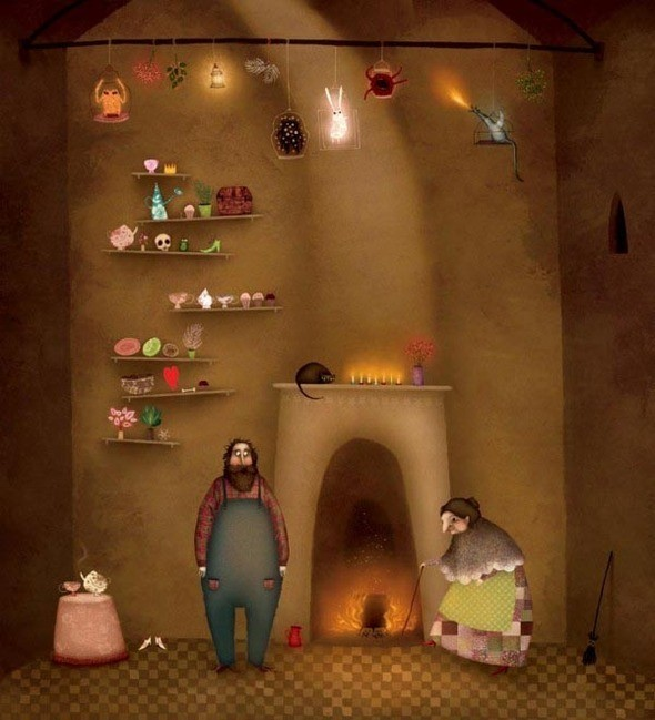 Изображение 21. Сказки на ночь от Лизы Эванс (Lisa Evans).. Изображение № 34.