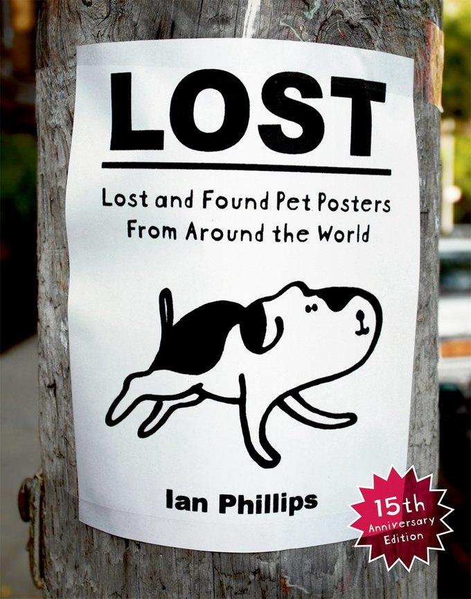 Объявления о потерянных питомцах издали в одной книге. Изображение № 1.