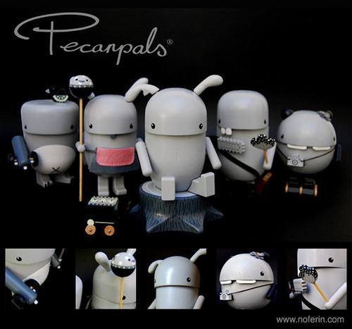 Моно серия Pecanpals. Изображение № 1.