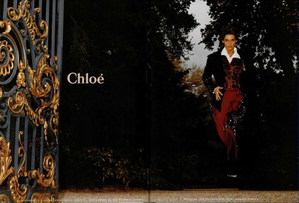 Архивная съёмка: Рекламная кампания Chloe за 1989 год. Изображение № 3.
