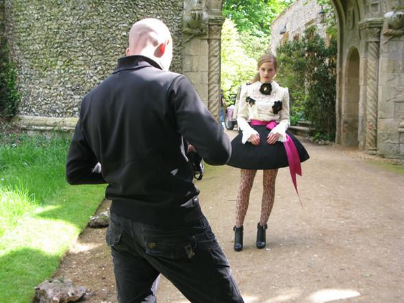 Emma Watson дляTeen Vogue August 2009. Изображение № 12.