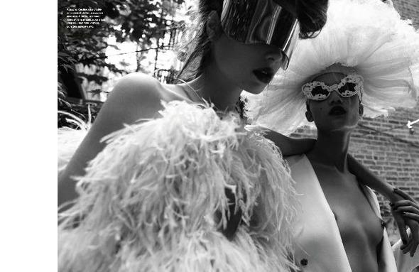 Съемки: Numero, Vogue, W и другие. Изображение №8.