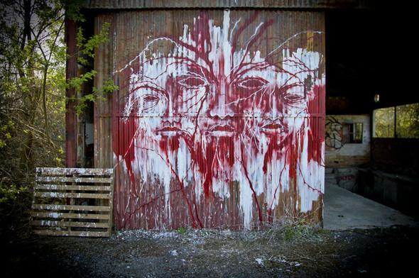 Стрит-арт от Iemza. Изображение № 11.
