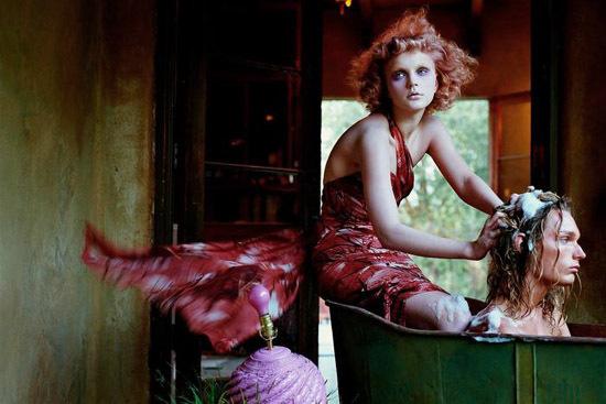 Vogue Italia September 2003. Изображение № 7.