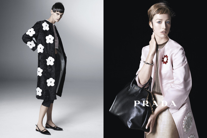 Вышла кампания Prada с Пивоваровой и Зиммерманн. Изображение № 2.