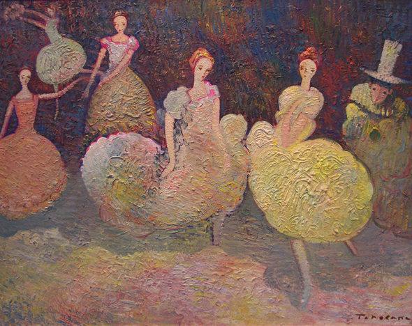 Игорь Чолария – мастер контрастной, яркой живописи. Изображение № 7.