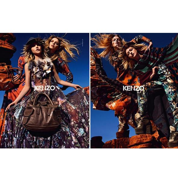 3 новые рекламные кампании: Burberry, Etam и Kenzo. Изображение № 16.