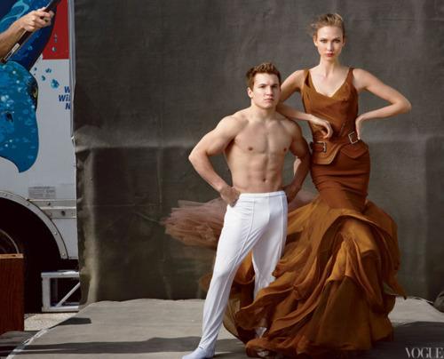 Быстрее, выше, сильнее: Модные съемки, вдохновленные спортом. Изображение №93.