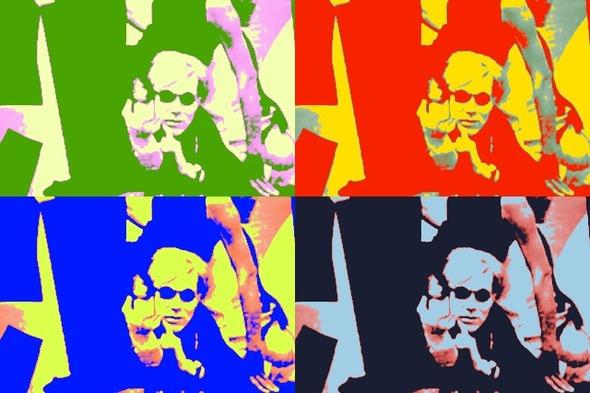 10 портретов Уорхола на веб-камеру . Изображение № 7.