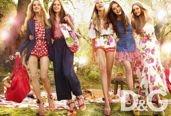 Изображение 1. S/S'11 Ad Campaign: Donna Karan, D&G, DKNY.. Изображение № 1.