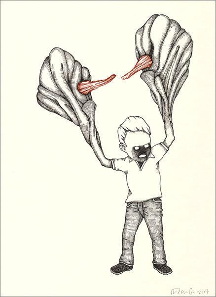 Фиктивная анатомия Джона Кейси. Изображение № 10.