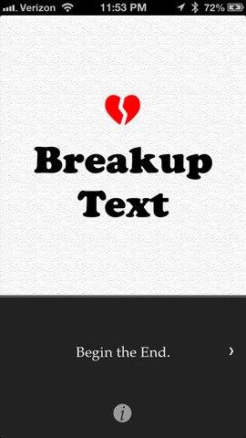 Вышло мобильное приложение для расставаний. Изображение № 1.