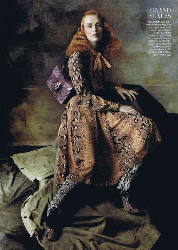 Съёмка: Стивен Майзел для американского Vogue. Изображение № 6.