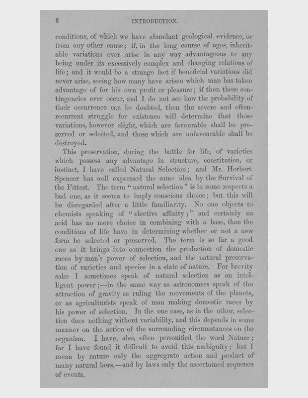 Чарльз Дарвин о естественном отборе. Изображение № 2.