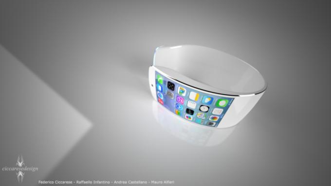 Согласно другой информации The New York Times, часы Apple действительно могут получить изогнутый дисплей. Изображение № 1.