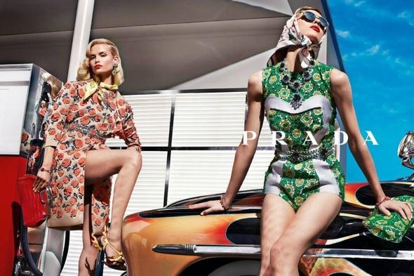 Кампания: Prada SS 2012. Изображение № 3.