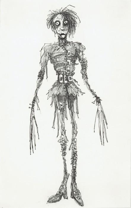Тим Бартон в роли художника. Изображение № 21.