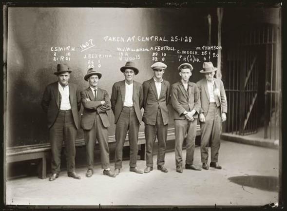 Фотографии американских гангстеров начала 20 века. Изображение № 4.