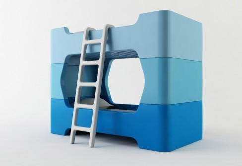 Детская кровать-конструктор. Изображение № 1.