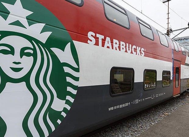 Новый Starbucks откроется в поезде. Изображение № 1.