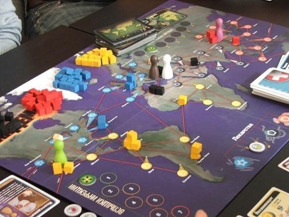 Изображение 2. Настольная игра «Пандемия».. Изображение № 4.