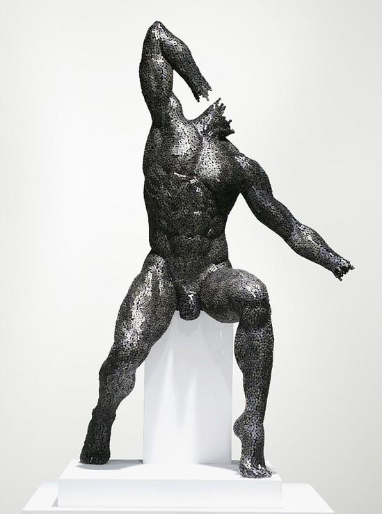 Скульптуры из цепей от Yeong-Deok Seo. Изображение № 5.