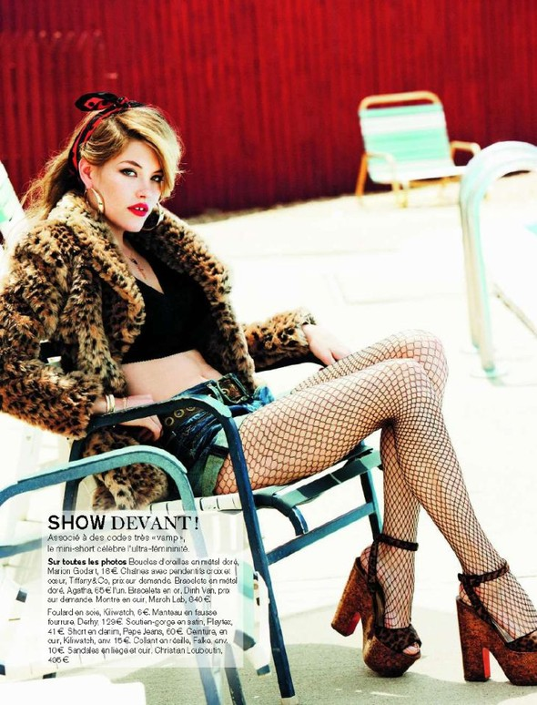 Съемка: Ashley Smith 4 Glamour France November 2011. Изображение № 8.