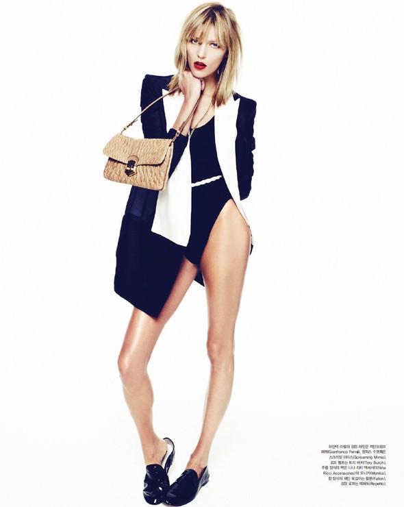 5 новых съемок: Elle, Harper's Bazaar, Numero и Vogue. Изображение № 48.