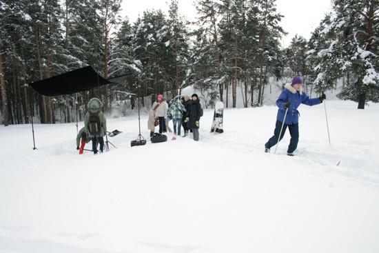 Немного испортили лыжню, но на нас не обиделись. Изображение № 21.