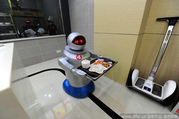 В Китае открылся роботизированный ресторан . Изображение № 2.