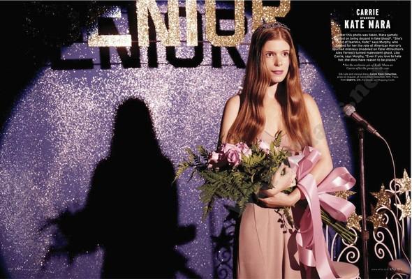 Съёмка: Актрисы из «Хора» и «Американской Истории Ужасов» для Elle. Изображение № 3.