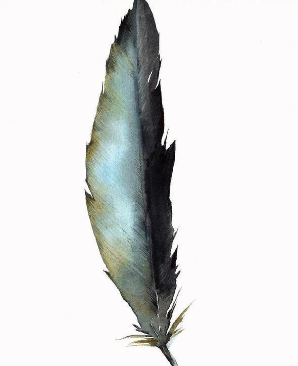 Изображение 57. Amber Alexander - животные, сияющие акварелью.. Изображение № 55.