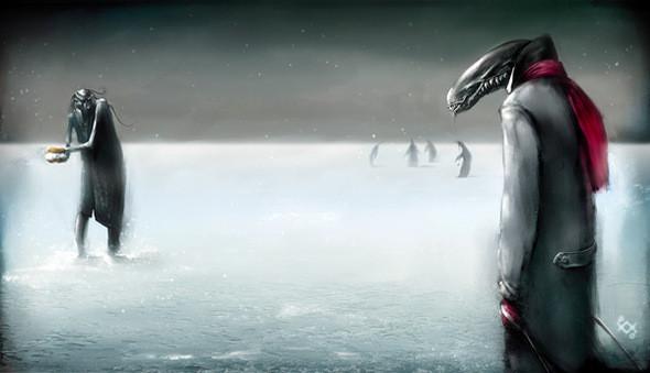 Олег Пащенко Alien vs. Predator, . Изображение № 2.