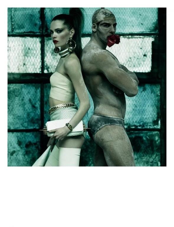 Съемки: Vogue, Numero, Tush и другие. Изображение №29.