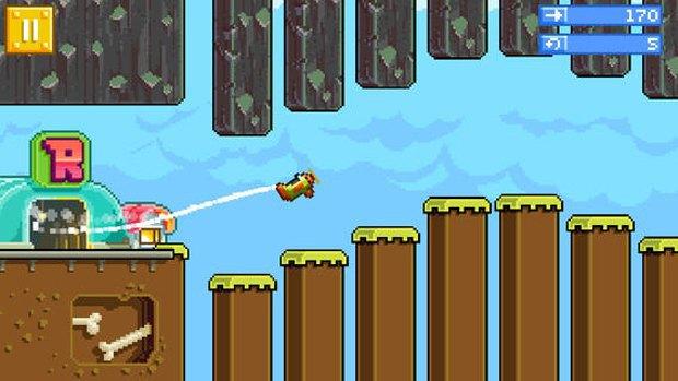 Создатели Angry Birds представили свою версию Flappy Bird. Изображение № 1.