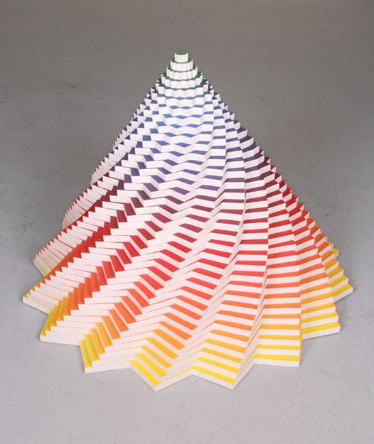 Объемные скульптуры из бумаги Jen Stark. Изображение № 29.