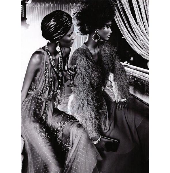 Изображение 5. The Blackallure: съемка с темнокожими моделями в итальянском Vogue.. Изображение № 5.
