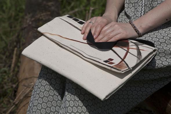 БЕЛОЕ — рюкзаки и сумки из грубого белого хлопка. Изображение № 23.