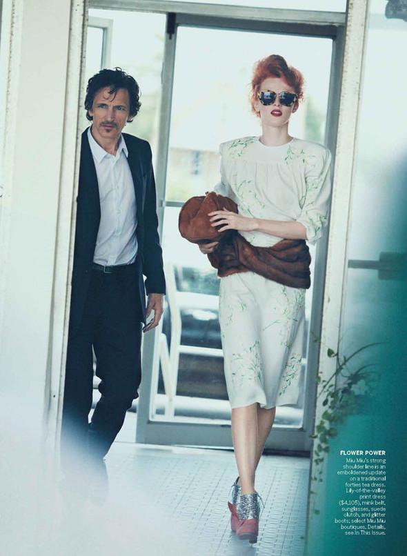 Съёмка: Карен Элсон для Vogue. Изображение № 4.