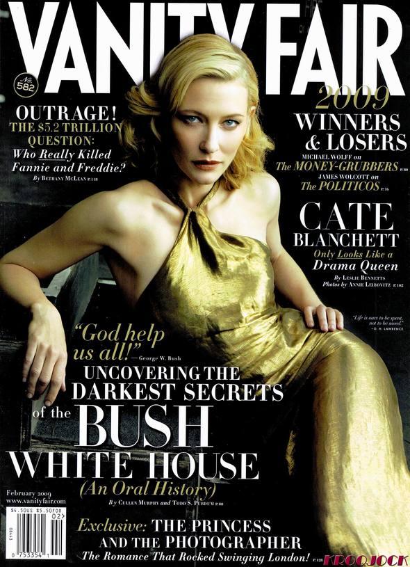 Кейт Бланшетт вжурнале Vanity Fair. Изображение № 1.