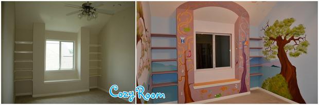 Детская комната по мотивам мультфильма «Рапунцель. Запутанная история». Изображение № 15.