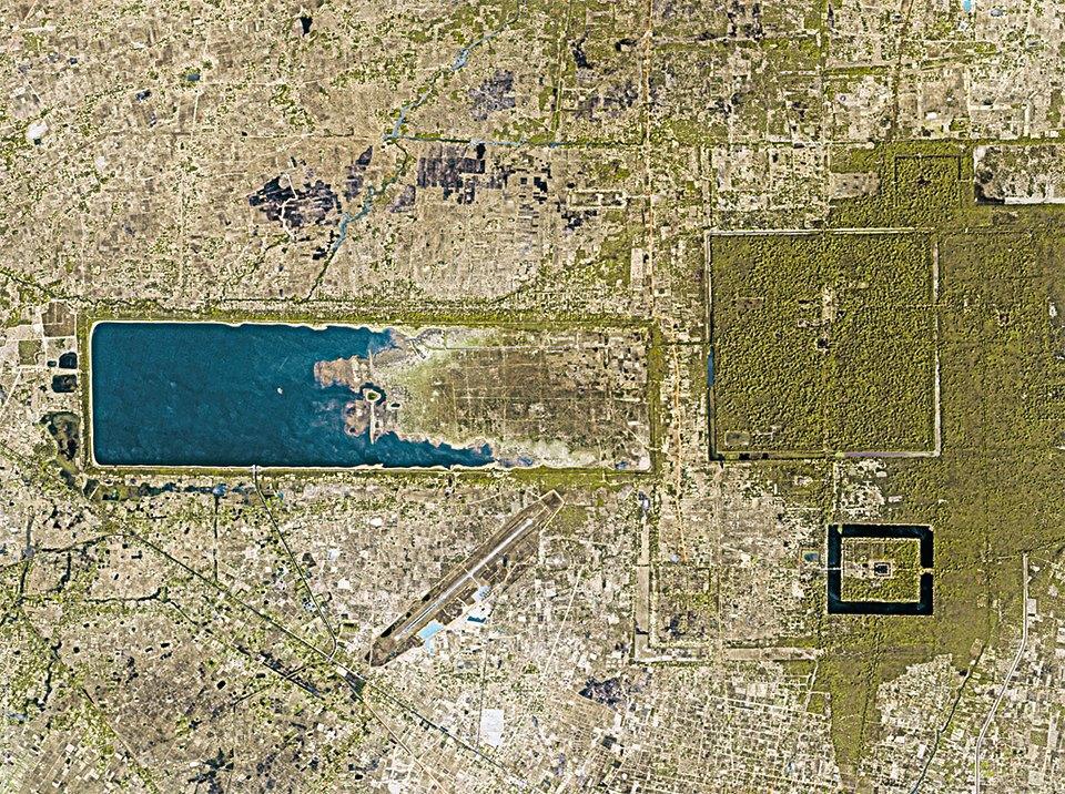 Снимки из космоса: Как люди осваивают и разрушают планету. Изображение № 9.