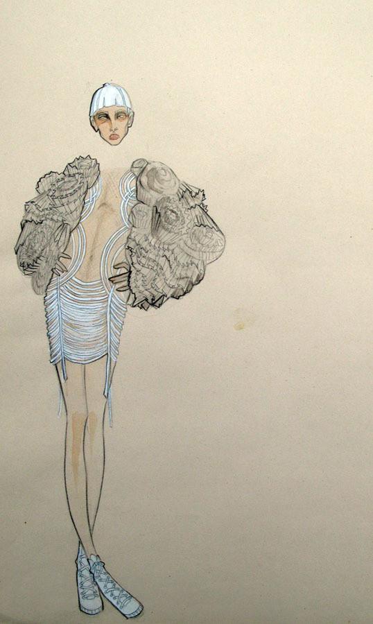 Изображение 7. Fashion-иллюстрационация от Anne Sofie Madsen.. Изображение № 7.