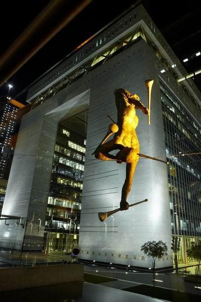 Скульптуры Джерзи Кедзиоры, парящие в воздухе. Изображение № 60.