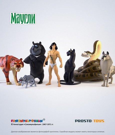 Появились официальные фигурки персонажей советского «Маугли». Изображение № 1.