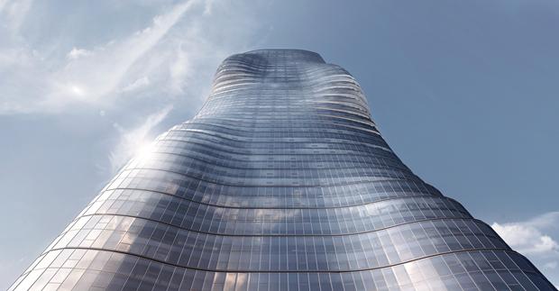Бюро представило вдохновлённый клипом Бейонсе небоскрёб. Изображение № 3.