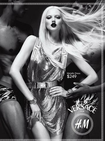 Новые снимки Versace для H&M. Изображение № 2.