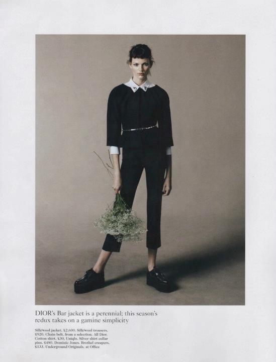 Съёмка: Дэниел Джексон для британского Vogue. Изображение № 7.